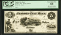 Obsoletes By State:Wisconsin, Hudson, WI- Hudson City Bank $5 G6 Krause G6 Proof. ...