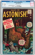 Silver Age (1956-1969):Horror, Tales to Astonish #11 (Marvel, 1960) CGC VF- 7.5 Off-white to whitepages....