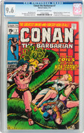 Bronze Age (1970-1979):Adventure, Conan the Barbarian #7 (Marvel, 1971) CGC NM+ 9.6 Off-white to white pages....