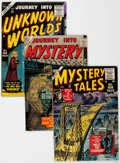 Golden Age (1938-1955):Horror, Atlas Golden Age Horror Comics Group of 6 (Atlas, 1955-57)Condition: Average VG.... (Total: 6 Comic Books)