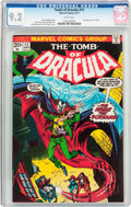 Bronze Age (1970-1979):Horror, Tomb of Dracula #12 (Marvel, 1973) CGC NM- 9.2 White pages....
