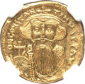 Ancients:Byzantine, Ancients: Constans II Pogonatus (AD 641-668). AV solidus (4.41gm)....