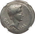 Ancients:Roman Imperial, Ancients: Augustus. (27 BC-AD 14). AR cistophorus (11.53 gm)....