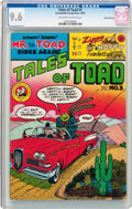 Bronze Age (1970-1979):Alternative/Underground, Tales of Toad #3 Haight-Ashbury Pedigree (Cartoonists Co-op Press, 1973) CGC NM+ 9.6 Off-white to white pages....