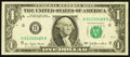 Error Notes:Blank Reverse (<100%), Fr. 1909-H $1 1977 Federal Reserve Note. Very Fine-Extremely Fine.....