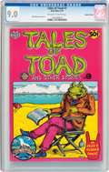 Bronze Age (1970-1979):Alternative/Underground, Tales of Toad #1 Haight-Ashbury Pedigree (Print Mint, 1970) CGC VF/NM 9.0 Off-white to white pages....
