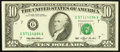 Error Notes:Ink Smears, Fr. 2030-G $10 1993 Federal Reserve Note. Extremely Fine.. ...