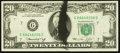 Error Notes:Ink Smears, Fr. 2071-G $20 1974 Federal Reserve Note. Choice CrispUncirculated.. ...