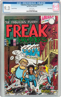 Bronze Age (1970-1979):Alternative/Underground, The Fabulous Furry Freak Brothers #1 Seventh Printing - Haight-Ashbury Pedigree (Rip Off Press, 1972) CGC NM- 9.2 White pages....