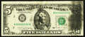 Error Notes:Ink Smears, Fr. 1980-B $5 1988A Federal Reserve Note. Very Fine-ExtremelyFine.. ...