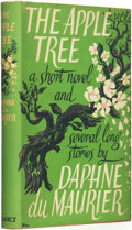 Books:Horror & Supernatural, Daphne Du Maurier. The Apple Tree: A Short Novel and Some Stories. London: Victor Gollancz Ltd., 1952....