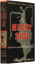 Books:Horror & Supernatural, August Derleth (editor). INSCRIBED. The Night Side: Masterpiecesof the Strange & Terrible. New York, Toronto: Rineh...
