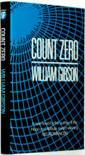 Books:Science Fiction & Fantasy, William Gibson. SIGNED. Count Zero. London: Victor Gollancz Ltd, 1986. ...