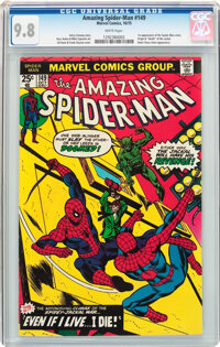 The Amazing Spider-Man #149 (Marvel, 1975) CGC NM/MT 9.8 White pages