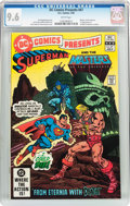 Modern Age (1980-Present):Superhero, DC Comics Presents #47 Superman and the Master of the Universe (DC,1982) CGC NM+ 9.6 White pages....