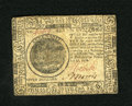 Colonial Notes:Continental Congress Issues, Continental Currency February 17, 1776 $7 Extremely Fine. A singleheavier fold is found on this Continental which has retai...