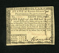 Colonial Notes:Rhode Island, Rhode Island July 2, 1780 $8 Fully Signed Choice New. A crisp andboldly printed example from this popular Rhode Island issu...