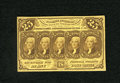 Fractional Currency:First Issue, Fr. 1281 25c First Issue Extremely Fine-About New. Very light evidence of circulation is found on this crisp and colorful fi...