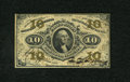 Fractional Currency:Third Issue, Fr. 1254SP 10c Narrow Margin Specimen Face Third Issue Choice New. A spectacular example of this specimen face that has the ...