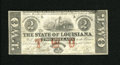 Obsoletes By State:Louisiana, Baton Rouge, LA- State of Louisiana $2 February 24, 1862. This is the variety that is printed on the back of unissued notes ...