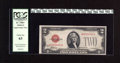 Small Size:Legal Tender Notes, Fr. 1505* $2 1928D Legal Tender Star Note. PCGS Choice New 63. This is an elusive Star, with this example having a bottom ed...