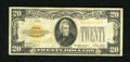 Small Size:Gold Certificates, Fr. 2402 $20 1928 Gold Certificate. Very Good-Fine. The perimeter of this $20 Gold is composed of sound edges. ...