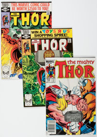 Thor Box Lot (Marvel, 1980-84) Condition: Average VF.... (Total: 2 )