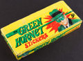 "Non-Sport Cards:Unopened Packs/Display Boxes, 1966 Greenway/Topps ""Green Hornet"" Stickers (Empty) Wax Box. ..."