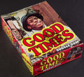 "Non-Sport Cards:Unopened Packs/Display Boxes, 1975 Topps ""Good Times"" Wax Box With 36 Unopened Packs. ..."