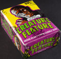 "Non-Sport Cards:Unopened Packs/Display Boxes, 1980 Topps ""Creature Feature"" Wax Box with 36 Unopened Packs. ..."