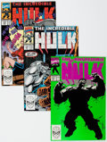 Modern Age (1980-Present):Superhero, The Incredible Hulk Box Lot (Marvel, 1990-98) Condition: AverageVF/NM.... (Total: 2 Box Lots)