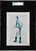 """Baseball Cards:Singles (Pre-1930), Extremely Rare 1911 Gilmartin Printing Co. James """"Jimmy"""" Lewis SGC 10 Poor 1 - Only Graded Example! ..."""