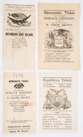 Political:Small Paper (pre-1896), Ulysses S. Grant et al: Four Ballots.... (Total: 4 Items)