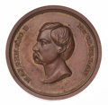 Political:Tokens & Medals, George McClellan: Thick Planchet Copper Medal....
