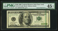 Error Notes:Miscellaneous Errors, Fr. 2175-B $100 1996 Federal Reserve Note. PMG Choice Extremely Fine 45 EPQ.. ...