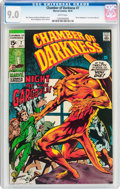 Bronze Age (1970-1979):Horror, Chamber of Darkness #7 (Marvel, 1970) CGC VF/NM 9.0 White pages....