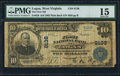 National Bank Notes:West Virginia, Logan, WV - $10 1902 Plain Back Fr. 626 The Logan NB Ch. # 8136....