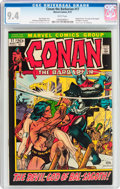 Bronze Age (1970-1979):Adventure, Conan the Barbarian #17 (Marvel, 1972) CGC NM 9.4 White pages....