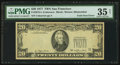 Error Notes:Foldovers, Fr. 2072-L $20 1977 Federal Reserve Note. PMG Choice Very Fine 35Net.. ...