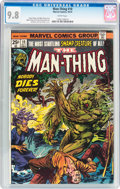 Bronze Age (1970-1979):Horror, Man-Thing #10 (Marvel, 1974) CGC NM/MT 9.8 White pages....