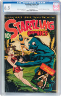 Golden Age (1938-1955):Science Fiction, Startling Comics #45 (Better Publications, 1947) CGC FN+ 6.5 Lighttan to off-white pages....
