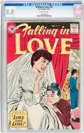 Silver Age (1956-1969):Romance, Falling in Love #31 (DC, 1959) CGC VF 8.0 Off-white pages....
