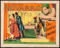 "Movie Posters:Action, The Road to Romance (MGM, 1927). Lobby Card (11"" X 14""). Action....."