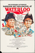 "Movie Posters:War, Waterloo & Other Lot (Paramount, 1970). Posters (2) (40"" X60""). War.. ... (Total: 2 Items)"