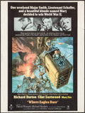"Movie Posters:War, Where Eagles Dare (MGM, 1968). Poster (30"" X 40""). War.. ..."