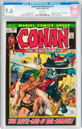 Bronze Age (1970-1979):Adventure, Conan the Barbarian #17 (Marvel, 1972) CGC NM+ 9.6 White pages....