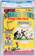 Bronze Age (1970-1979):Miscellaneous, DC Special #9 Strangest Sports Stories Ever Told! (DC, 1970) CGCNM+ 9.6 White pages....