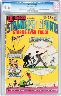 DC Special #9 Strangest Sports Stories Ever Told! (DC, 1970) CGC NM+ 9.6 White pages
