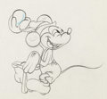 Animation Art:Production Drawing, Alpine Climbers Mickey Mouse Animation Drawing (Walt Disney,1938)....