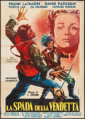 """Movie Posters:Foreign, Captain Tempest (Classic Films, 1961). Italian 2 - Fogli (39"""" X 55""""). Foreign.. ..."""